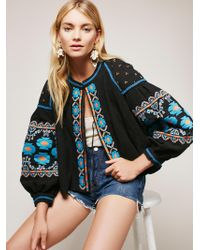 embroidered-swingy-jacket-Black combo-d17f52d9-